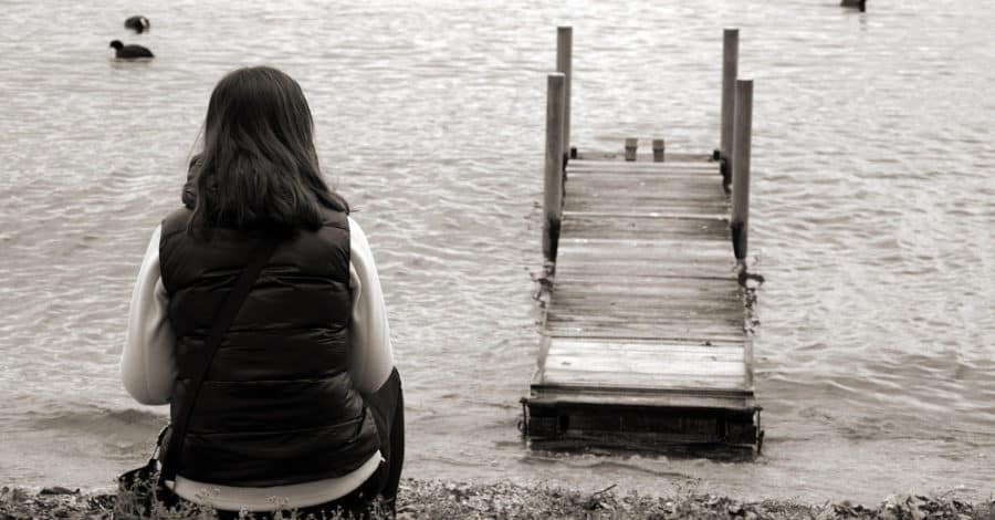 eenzaam en alleen voelen